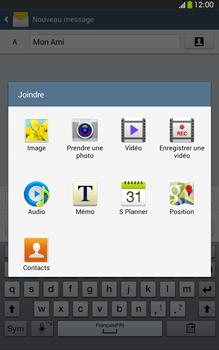 Samsung Galaxy Tab 3 8 4G - Contact, Appels, SMS/MMS - Envoyer un MMS - Étape 14