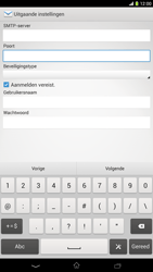 Sony C6833 Xperia Z Ultra LTE - E-mail - Handmatig instellen - Stap 14