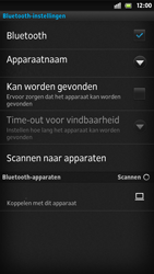 Sony LT26i Xperia S - bluetooth - aanzetten - stap 7