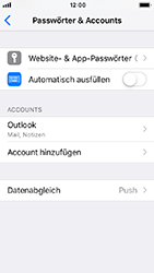 Apple iPhone 5s - iOS 12 - E-Mail - Konto einrichten (outlook) - Schritt 10