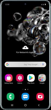 Samsung Galaxy S20 Ultra 5G - Gerät - Einen Soft-Reset durchführen - Schritt 2