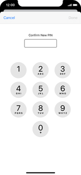 Apple iPhone 11 Pro - Security - Set the PIN code for your SIM card - Step 10