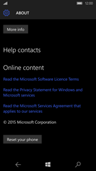 Microsoft Lumia 950 - Device - Factory reset - Step 7