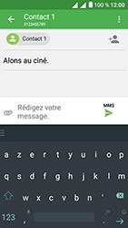Alcatel U5 - Contact, Appels, SMS/MMS - Envoyer un MMS - Étape 13
