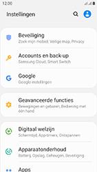 Samsung galaxy-xcover-4s-dual-sim-sm-g398fn - Beveiliging en ouderlijk toezicht - Hoe wijzig ik mijn SIM PIN-code - Stap 4