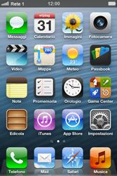 Apple iPhone 4 - Rete - Selezione manuale della rete - Fase 9
