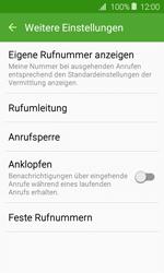 Samsung J120 Galaxy J1 (2016) - Anrufe - Rufumleitungen setzen und löschen - Schritt 7