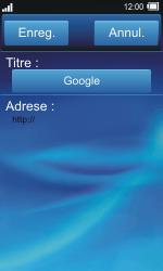 Sony TXT Pro - Internet - Navigation sur Internet - Étape 6
