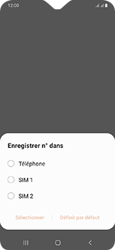 Samsung Galaxy A20e - Contact, Appels, SMS/MMS - Ajouter un contact - Étape 5