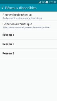Samsung Galaxy Note 4 - Réseau - Sélection manuelle du réseau - Étape 9