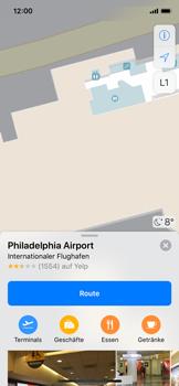 Apple iPhone X - iOS 11 - Indoor-Karten (Einkaufszentren/Flughäfen) - 10 / 12