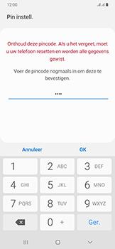 Samsung Galaxy A50 - Beveiliging en privacy - automatische schermblokkering instellen - Stap 10