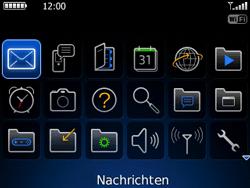 BlackBerry 8520 Curve - E-Mail - E-Mail versenden - Schritt 3