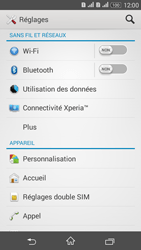 Sony Xperia E4g - Internet et connexion - Partager votre connexion en Wi-Fi - Étape 4