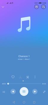 Huawei Nova 5T - Photos, vidéos, musique - Ecouter de la musique - Étape 5