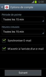 Samsung Galaxy Express - E-mail - Configuration manuelle - Étape 16