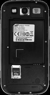 Samsung I9301i Galaxy S III Neo - SIM-Karte - Einlegen - Schritt 4