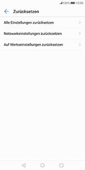 Huawei Mate 10 Pro - Fehlerbehebung - Handy zurücksetzen - Schritt 7