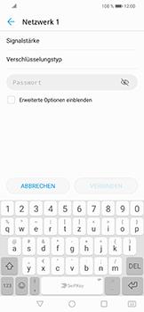 Huawei Nova 3 - WLAN - Manuelle Konfiguration - Schritt 7