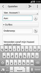 Huawei Ascend Y550 - E-mail - E-mail versturen - Stap 5