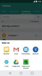 LG X Screen - Contactgegevens overzetten - delen via Bluetooth - Stap 8