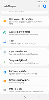 Samsung galaxy-a7-dual-sim-sm-a750fn-android-pie - Software updaten - Update installeren - Stap 4