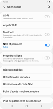 Samsung Galaxy S9 Plus - Android Pie - Wifi - configuration manuelle - Étape 4