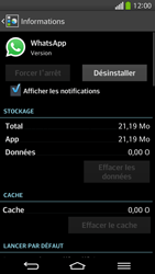 LG D955 G Flex - Applications - Comment désinstaller une application - Étape 7