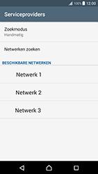 Sony xperia-xz-premium-g8141 - Netwerk selecteren - Handmatig een netwerk selecteren - Stap 11