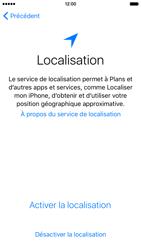 Apple iPhone SE - Premiers pas - Créer un compte - Étape 10