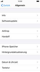 Apple iPhone SE - iOS 13 - Apps - Eine App deinstallieren - Schritt 4