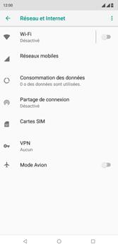Wiko View 2 Plus - Internet - activer ou désactiver - Étape 5