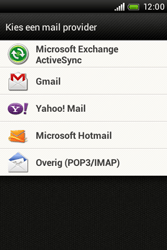 HTC A320e Desire C - E-mail - e-mail instellen: POP3 - Stap 5