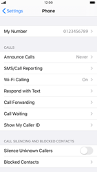 Apple iPhone 8 - iOS 13 - WiFi - Enable WiFi Calling - Step 5