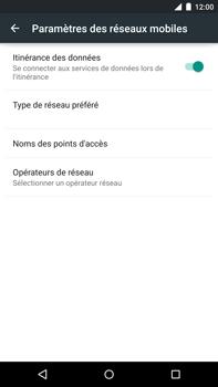 Motorola Nexus 6 - Internet - Utilisation à l