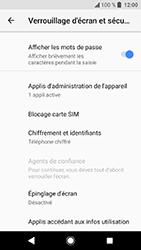 Sony Xperia XA2 - Sécuriser votre mobile - Personnaliser le code PIN de votre carte SIM - Étape 5