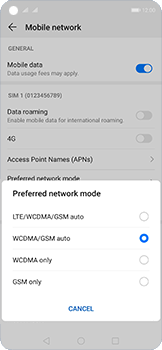 Huawei Nova 5T - Network - How to enable 4G network connection - Step 6