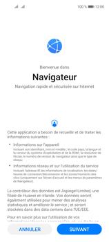 Huawei P40 Lite 5G - Internet et connexion - Naviguer sur internet - Étape 3