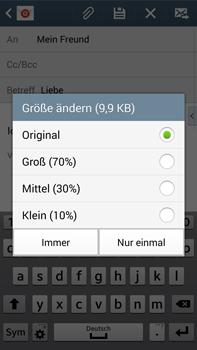 Samsung Galaxy Note 3 LTE - E-Mail - E-Mail versenden - 17 / 20