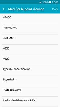 Samsung Galaxy A8 - MMS - Configuration manuelle - Étape 11