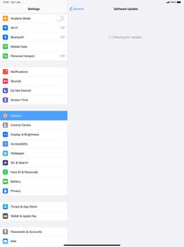 Apple iPad Pro 12.9 (1st gen) - ipados 13 - Software - Installing software updates - Step 5