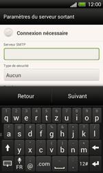 HTC One SV - E-mail - Configuration manuelle - Étape 12