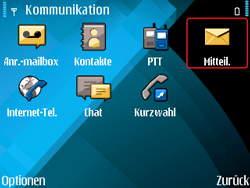Nokia E71 - E-Mail - Konto einrichten - Schritt 4
