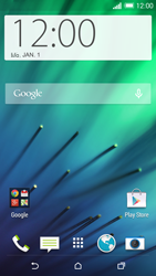 HTC One M8 - Applications - Setting up the application store - Step 1