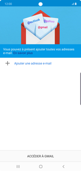 Samsung Galaxy Note 10 Plus 5G - E-mail - 032a. Email wizard - Gmail - Étape 6