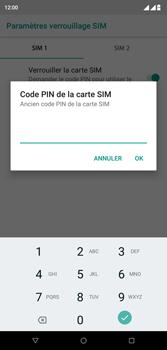 Wiko View 2 Plus - Sécurité - modifier SIM PIN - Étape 8