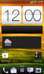 HTC One SV - Getting started - Installing widgets and applications on your start screen - Step 6