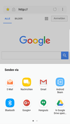 Samsung Galaxy S6 Edge - Android Nougat - Internet und Datenroaming - Verwenden des Internets - Schritt 18