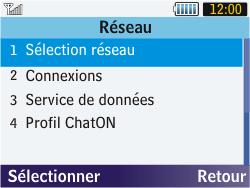 Samsung S3570 Chat 357 - Réseau - utilisation à l'étranger - Étape 8