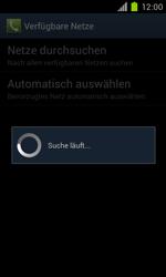 Samsung Galaxy S II - Netzwerk - Manuelle Netzwerkwahl - Schritt 8